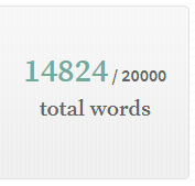 Camp NaNoWriMo: Midpoint Update